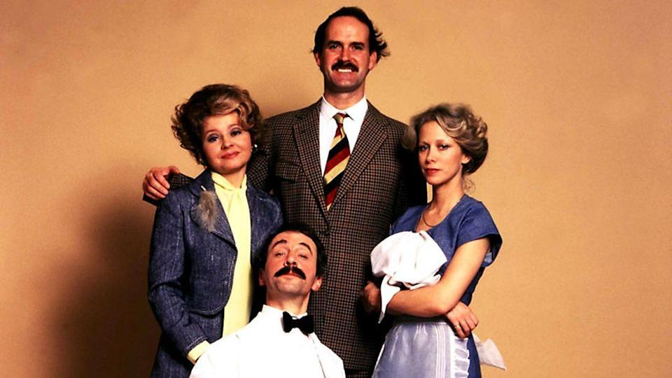 <p> <strong>Years: </strong>1975 – 1979 </p> <p> While most of Fawlty Towers' '70s sitcom peers now seem achingly slow, there's an urgency to ex-Python John Cleese and Connie Booth's series that seems to keep it from appearing dated. Only 12 episodes (each one written over a six-week period) were made, all beautifully constructed mini-farces, as meticulously detailed as any Ocean's 11 movie or a Steven Moffat script. <em>SOB</em> </p>