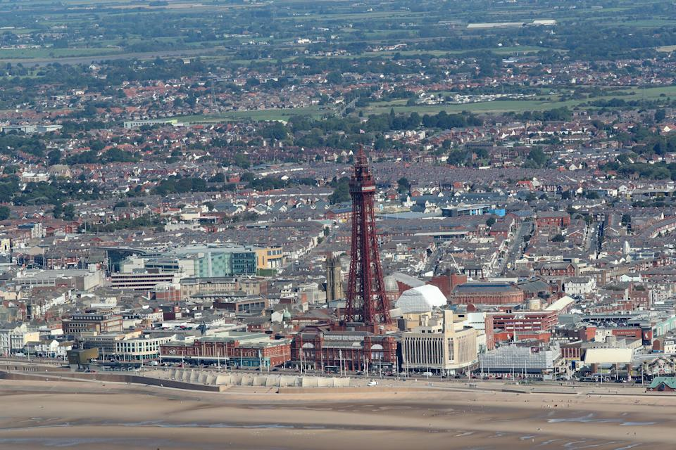 The report found Blackpool is the most deprived local authority in England (Peter Byrne/PA) (PA Archive)