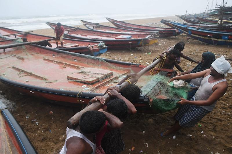 More than a million evacuated as cyclone hits India's east coast