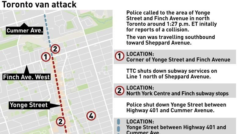 Police say van attack victims were mostly women — but offer no details on motive