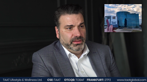 In the video shown above, TAAT™ Chief Executive Officer Setti Coscarella describes the relationship between a sales agency such as CROSSMARK and a CPG firm such as TAAT™. Last week, CROSSMARK began rolling out TAAT™ to new accounts in Ohio including wholesalers, distributors, key retail accounts, and individual stores. The video can be watched by clicking above or clicking here.