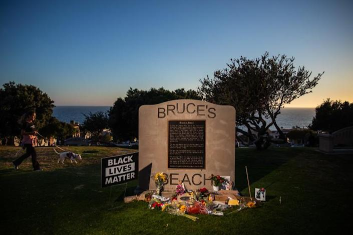 "A century ago, Bruce's Beach in Manhattan Beach was one of the most prominent Black-owned resorts by the sea. <span class=""copyright"">(Jay L. Clendenin / Los Angeles Times)</span>"