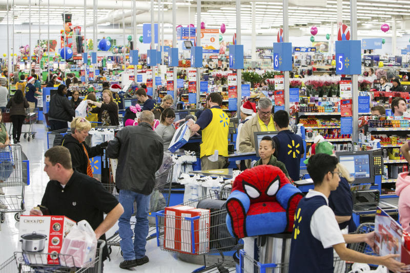 Ain't no party like a Walmart party … well, on Thanksgiving, at least!