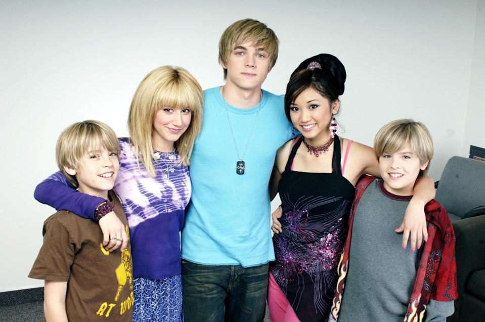 "<p>Before <em>High School Musical</em> made a star of Ashley Tisdale and <em>Riverdale</em> begat the Sprouse obsession, there was <em>The Suite Life</em>, about a pair of rabble-rousing twins who live at a swanky Boston hotel. They prank guests, get in trouble with the staff, and never seem to go to school. A modern take on Eloise.</p> <p><a href=""https://cna.st/affiliate-link/428C3oXt2rzkDZs6XgNgJuuac1g7WSn8cLbaq6XoNBU2bwzWPCziUzj7asdmQH7YEDgahS9KvpKkT9K4LtFTZngyu7pz6mMfAjCydRnKTAiA1Be9qKB3oSajbjgJVE5CELn7XDT1mymKG?cid=602d2ca48861228ee3811585"" rel=""nofollow noopener"" target=""_blank"" data-ylk=""slk:Watch now on Disney+"" class=""link rapid-noclick-resp""><em>Watch now on Disney+</em></a></p>"