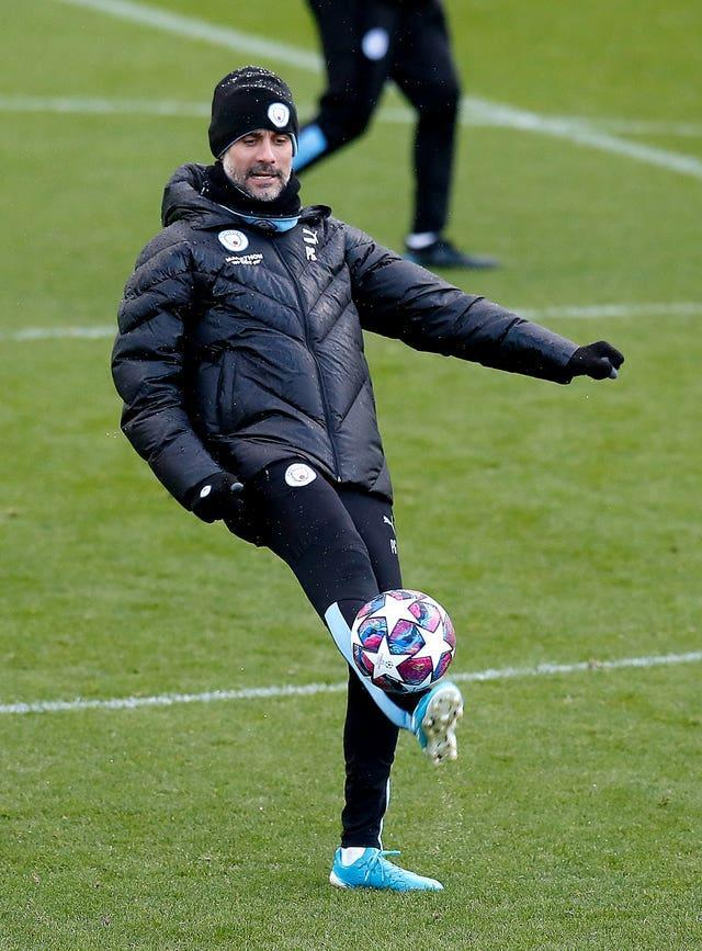 Guardiola is preparing his players to face Crystal Palace