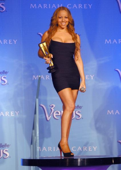 """<div class=""""caption-credit""""> Photo by: Getty</div><div class=""""caption-title""""></div>Singer <b>Mariah Carey</b> insured her legs for $1 billion dollars. You heard that right: $1 billion. Apparently after Gillette made her the <a rel=""""nofollow"""" target="""""""" href=""""http://www.cracked.com/article_15887_the-6-strangest-tales-celebrity-body-part-insurance.html"""">spokesperson</a> for their Venus razor she figured, why not? If nothing else, this insane policy earns her a permanent place in the weird celebrity decisions hall of fame."""
