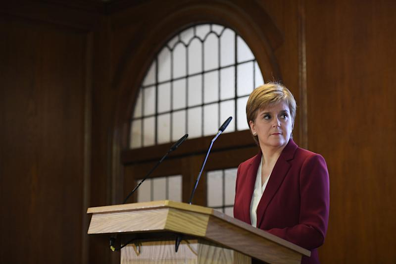 Scotland's first minister Nicola Sturgeon says her SNP party want a December general election (Picture: AFP/Getty)