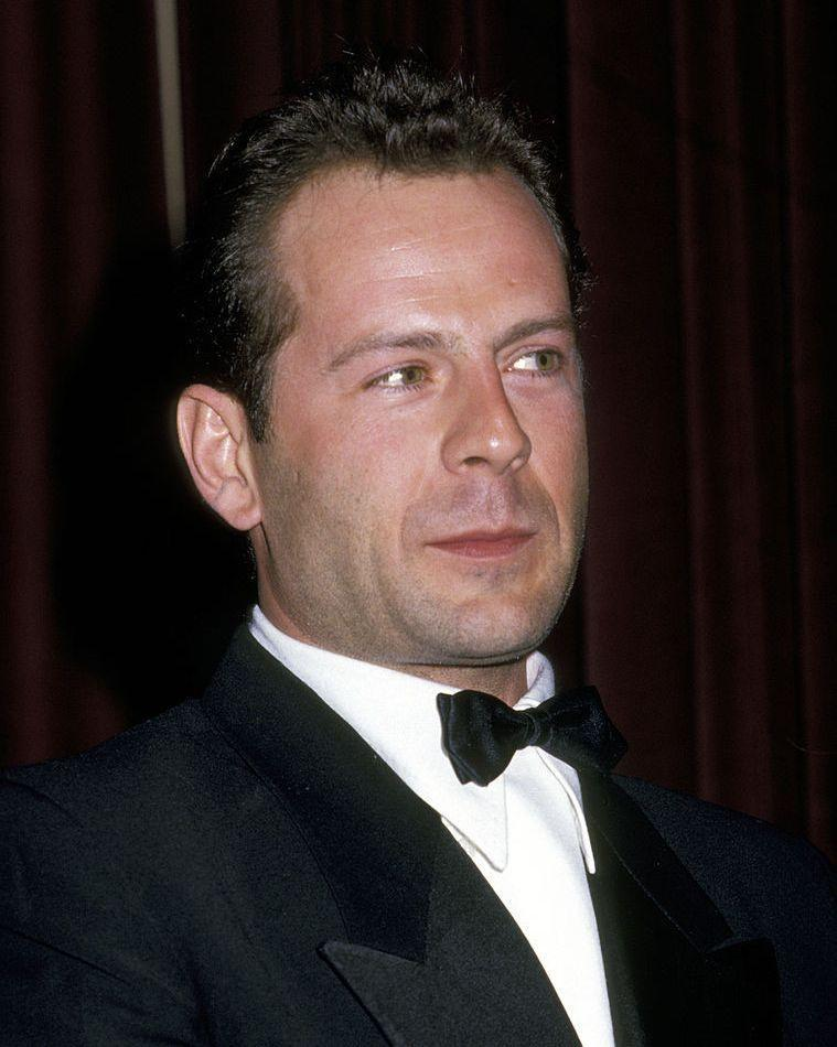 <p>This is Willis in 1987. Still a movie star with hair, but maybe not the Willis you recognize today.</p>