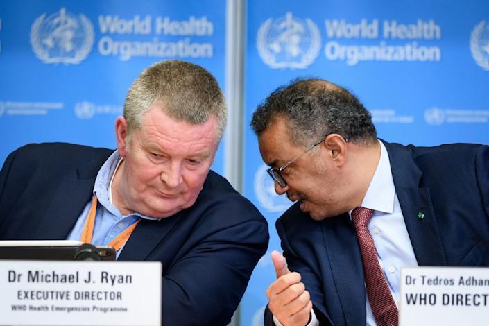 mike ryan WHO tedros