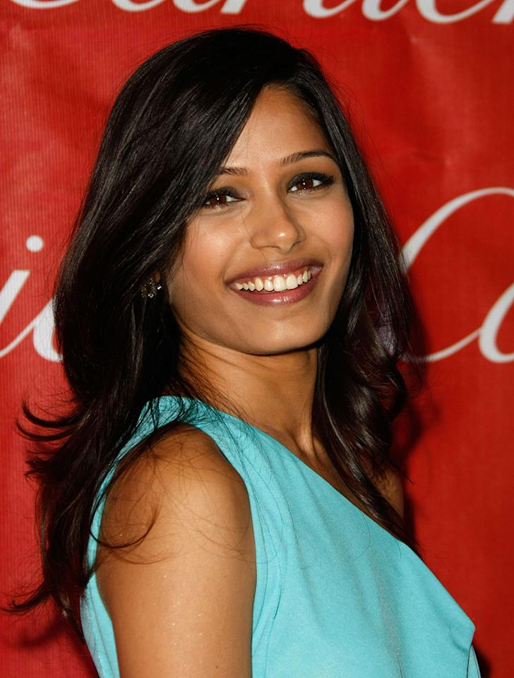 "<a href=""http://movies.yahoo.com/movie/contributor/1810042390"">Freida Pinto</a> at the 20th Annual Palm Springs Film Festival Gala - 01/06/2009"