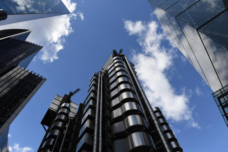 Lloyd's of London in the City of London as the the world's largest insurance market, said that the coronavirus crisis will cost it as much as the September 11 attacks, or all the hurricanes of 2017 combined. (Photo by Stefan Rousseau/PA Images via Getty Images)