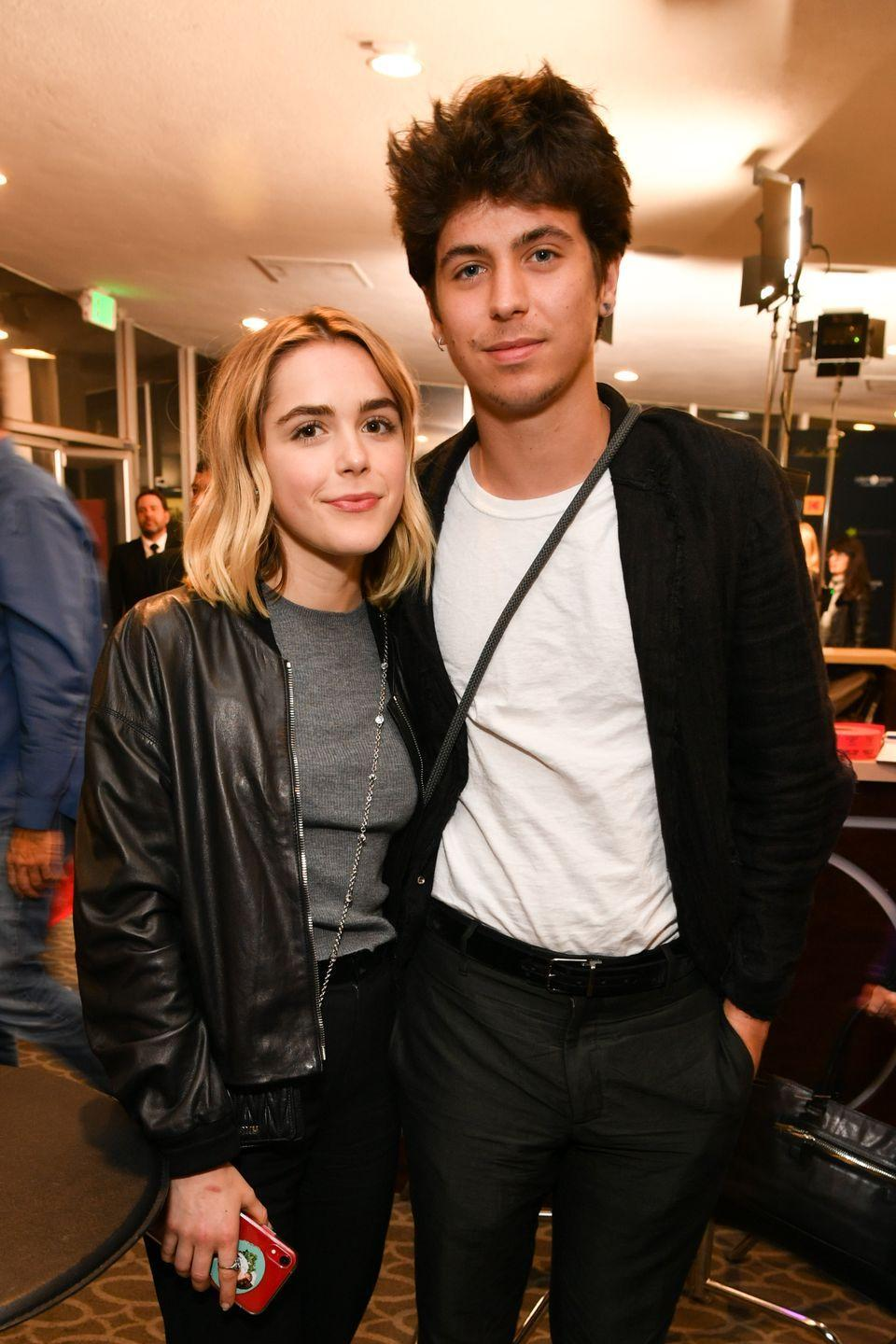 "<p>Shipka and model Charlie Oldman were first rumored to be dating back in March 2019 when they were spotted out on a date in West Hollywood. Since then, the couple decided to take their relationship Instagram <a href=""https://www.instagram.com/p/BwAXX14n2KQ/"" rel=""nofollow noopener"" target=""_blank"" data-ylk=""slk:official"" class=""link rapid-noclick-resp"">official</a>, but make it a point to stay out of the public eye.</p>"