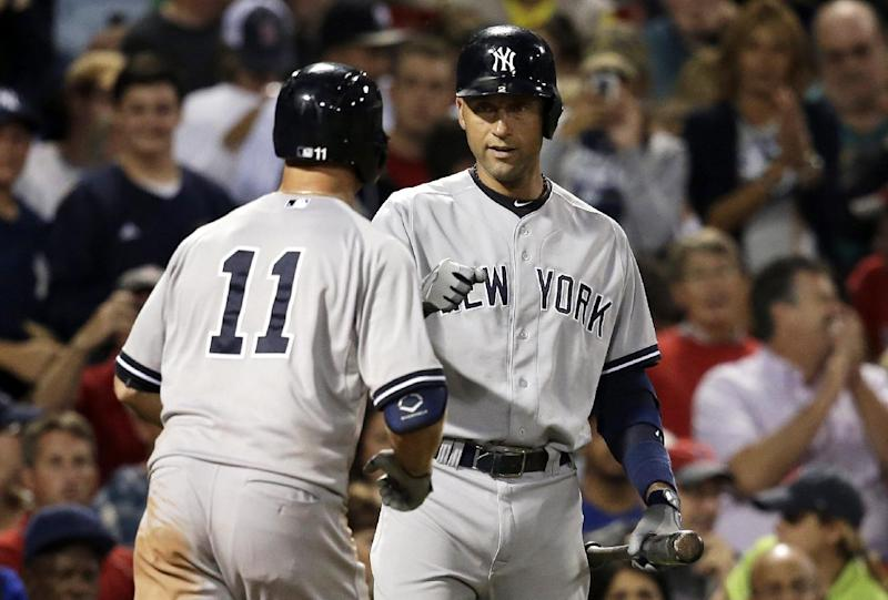 Gardner, Drew help Yankees beat Red Sox 8-7