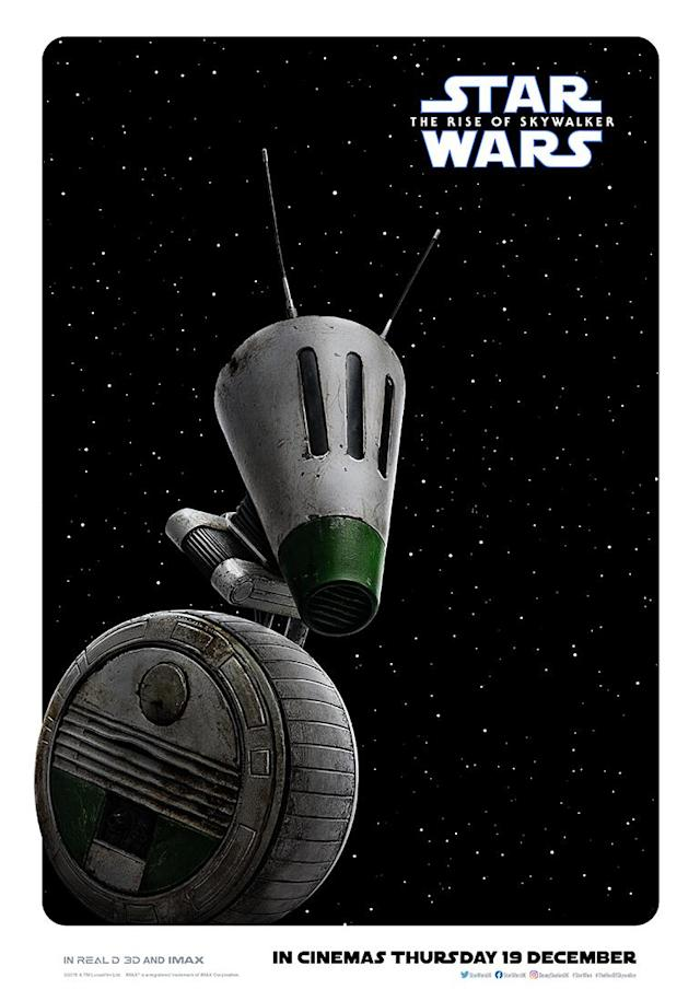 D-O is the latest droid on the block. (Disney)