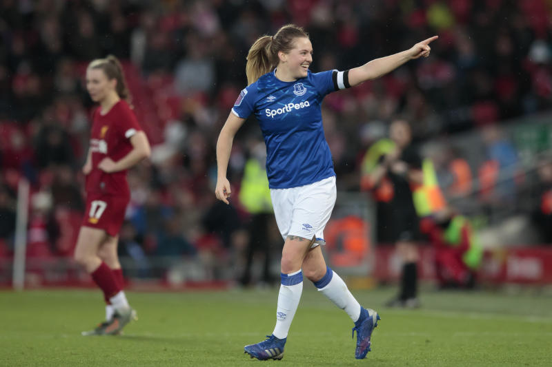Graham starred in Everton's opening day FA WSL win over Bristol City and reckons her side have what it takes to hit the European heights