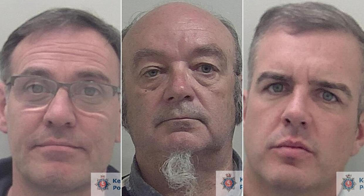 Three men have been jailed over a £12 million fake money conspiracy. (Kent Police)