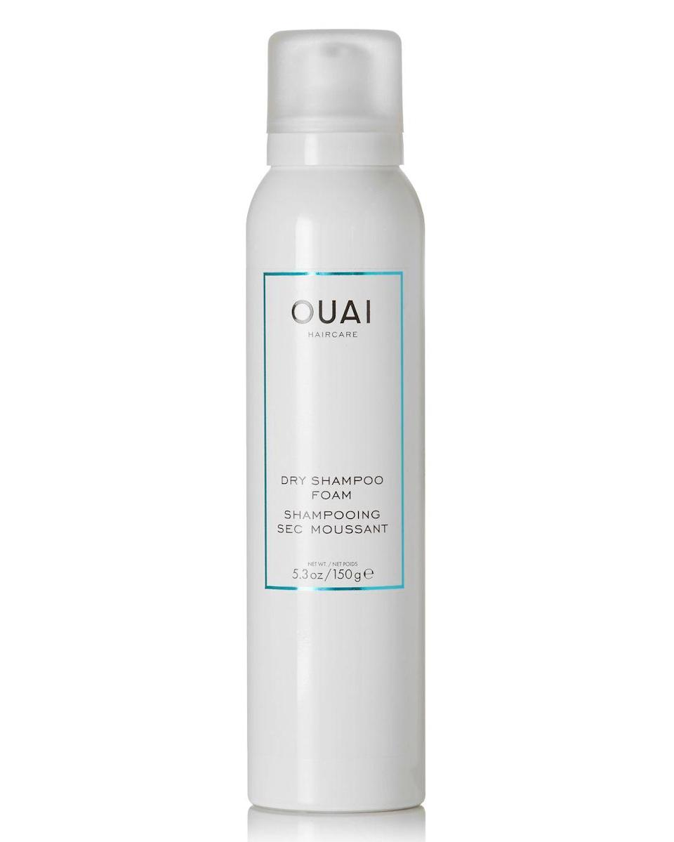 """<p><a class=""""link rapid-noclick-resp"""" href=""""https://go.redirectingat.com?id=127X1599956&url=https%3A%2F%2Fwww.lookfantastic.com%2Fouai-dry-shampoo-foam-150g%2F11418604.html&sref=https%3A%2F%2Fwww.elle.com%2Fuk%2Fbeauty%2Fhair%2Fg31948%2Fbest-dry-shampoo%2F"""" rel=""""nofollow noopener"""" target=""""_blank"""" data-ylk=""""slk:SHOP NOW"""">SHOP NOW</a></p><p>A dry shampoo foam?? Yup, it's a thing and it totally works. From the hair genius that is Jen Atkin, smooth this paraben-free foam into your roots to instantly refresh greasy hair with no powdery residue in sight. </p>"""