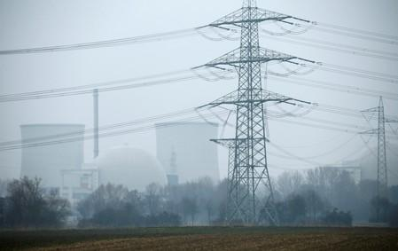 FILE PHOTO: General view of the nuclear power plant in Biblis near Frankfurt