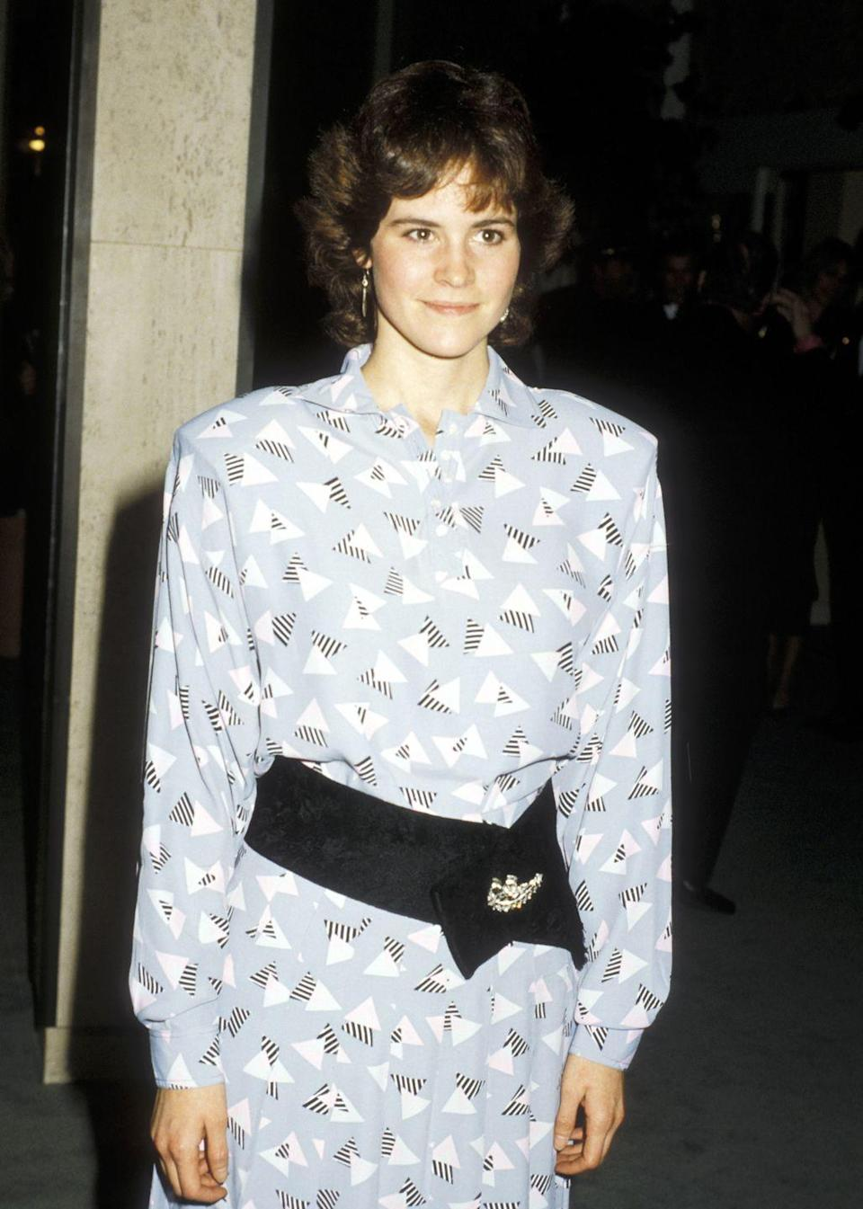 <p>Ally Sheedy made her big screen debut as Sean Penn's girlfriend in 1983's <em>Bad Boys. </em>As one of the stars of the Brat Pack, she rose to fame as the shy Allison Reynolds in <em>The Breakfast Club. </em>She spent the decade with other '80s hits like<em> WarGames </em>and <em>St. Elmo's Fire.</em><br></p>