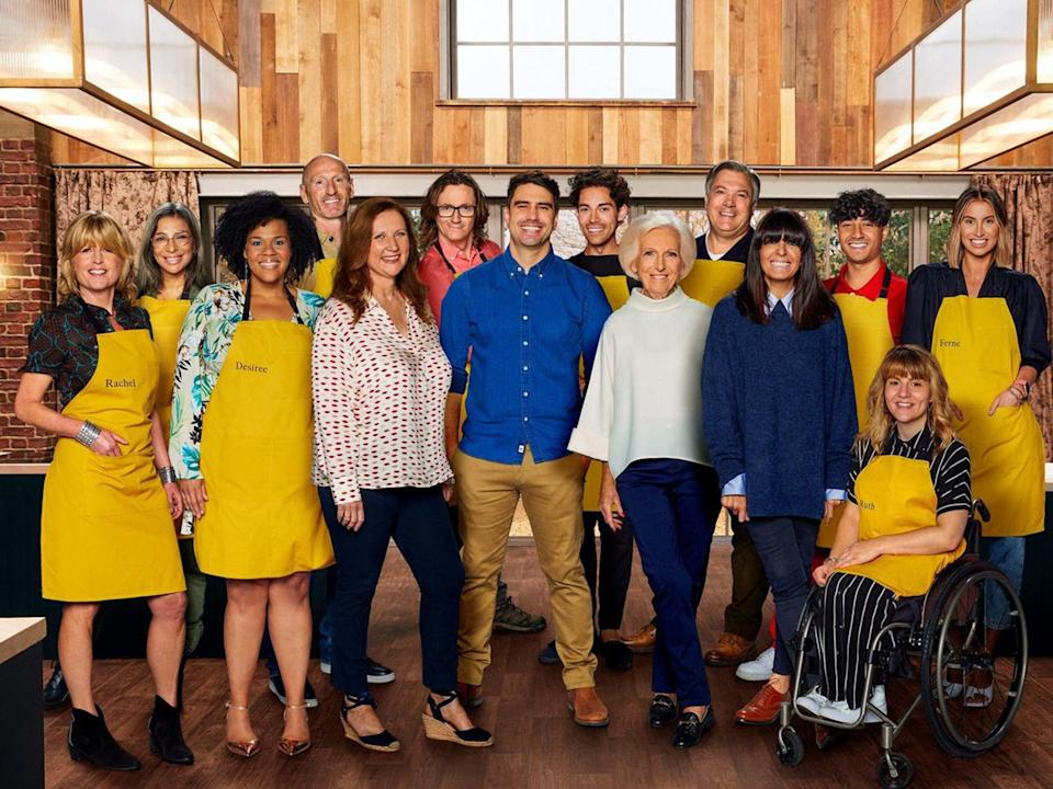 The contestants of this year's TV competition showBBC