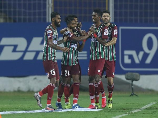 ATK Mohun Bagan secured a 1-0 win over Jamshedpur FC. (Photo/ ISL)
