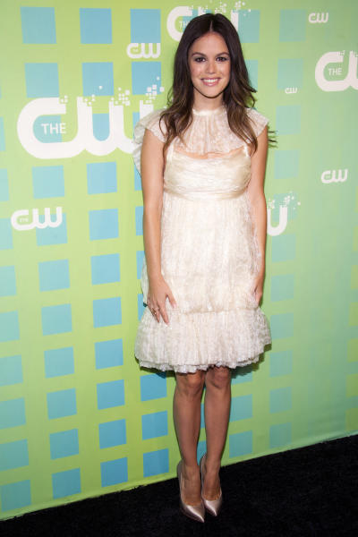 Rachel Bilson attends The CW Television Network's Upfront 2012 in New York, Thursday, May 17, 2012. (AP Photo/Charles Sykes)