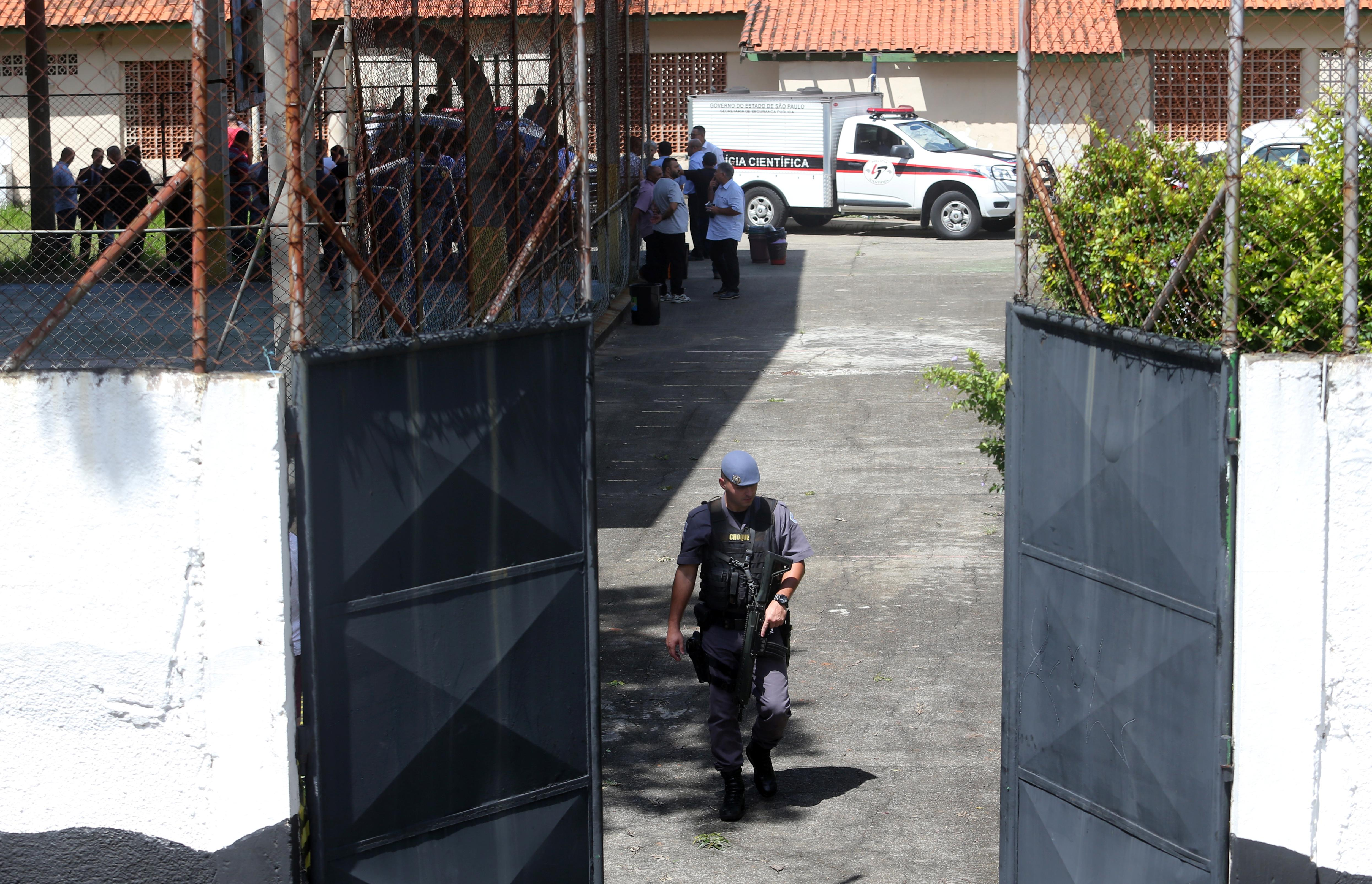 Victims killed, injured during school shooting in Brazil