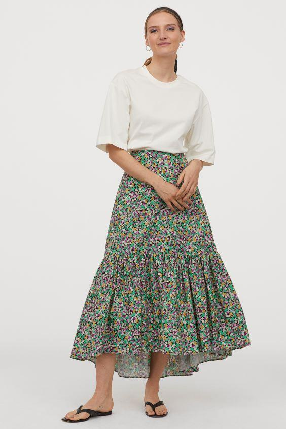 You can also get your hands on a matching skirt (H&M)