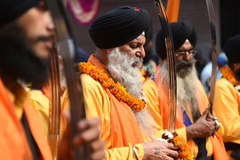 Sikhism is a monotheistic religion born in the 15th-century in Punjab –- a region spanning parts of what is now India and Pakistan (AFP Photo/Money SHARMA)