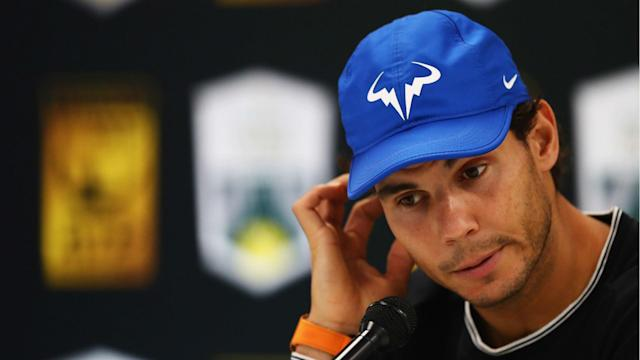 A hip injury will prevent Rafael Nadal, the World No. 2, from playing at Indian Wells, and he also will miss the Miami Open.