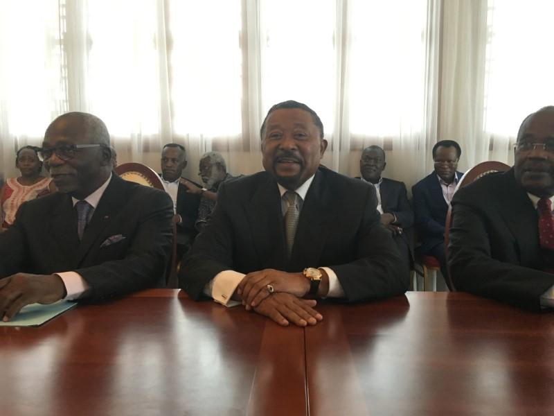 L'OPPOSANT GABONAIS JEAN PING EN APPELLE AU DIALOGUE NATIONAL