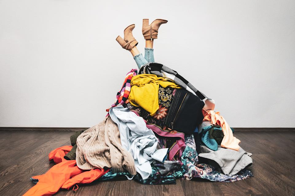 Follow the KonMari method — if it doesn't spark joy, get rid of it.