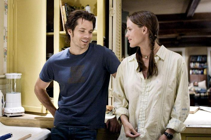"""<p>This is one of Garner's less-popular romantic comedies, perhaps due to its darker tone. Don't let that stop you from diving in, though. She plays a woman mourning the death of her fiancé with the help of his three best friends. It'll break your heart and fix it right back up again before the end credits roll.</p><p><a class=""""link rapid-noclick-resp"""" href=""""https://www.amazon.com/Catch-Release-Jennifer-Garner/dp/B000RFU09Y/ref=sr_1_1?tag=syn-yahoo-20&ascsubtag=%5Bartid%7C10072.g.27131604%5Bsrc%7Cyahoo-us"""" rel=""""nofollow noopener"""" target=""""_blank"""" data-ylk=""""slk:WATCH NOW"""">WATCH NOW</a><br></p>"""