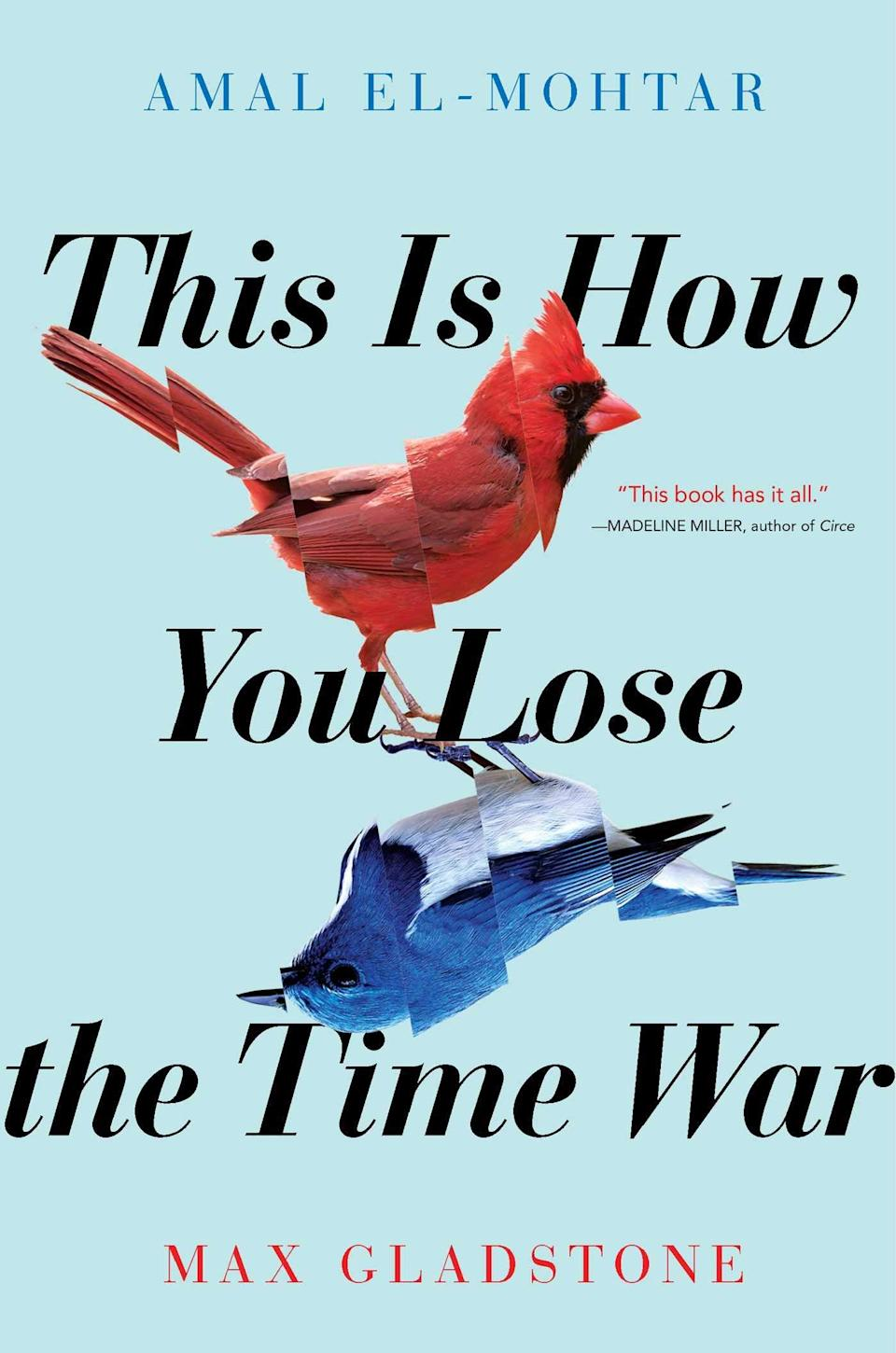 This is How You Lose the Time War book cover