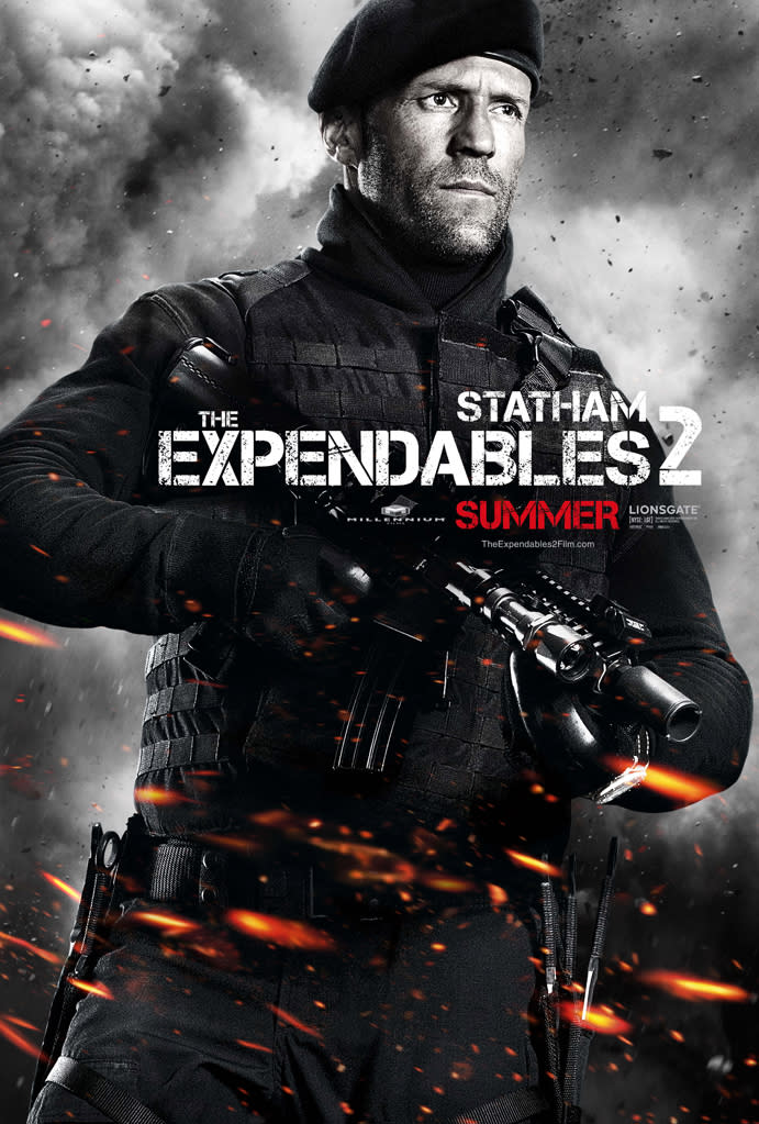 """Jason Statham in Lionsgate's """"The Expendables 2"""" - 2012"""