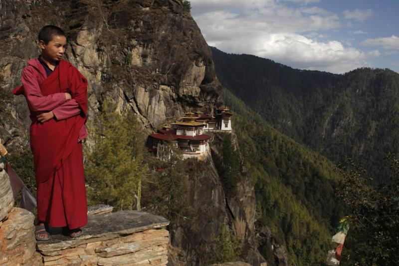 The Tiger's Nest monastery has become the most recognisable symbol of Bhutan (Getty)