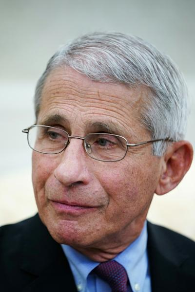 """Anthony Fauci, who oversaw the investigation, told reporters at the White House: """"The data shows that remdesivir has a clear-cut, significant, positive effect in diminishing the time to recovery"""" (AFP Photo/MANDEL NGAN)"""