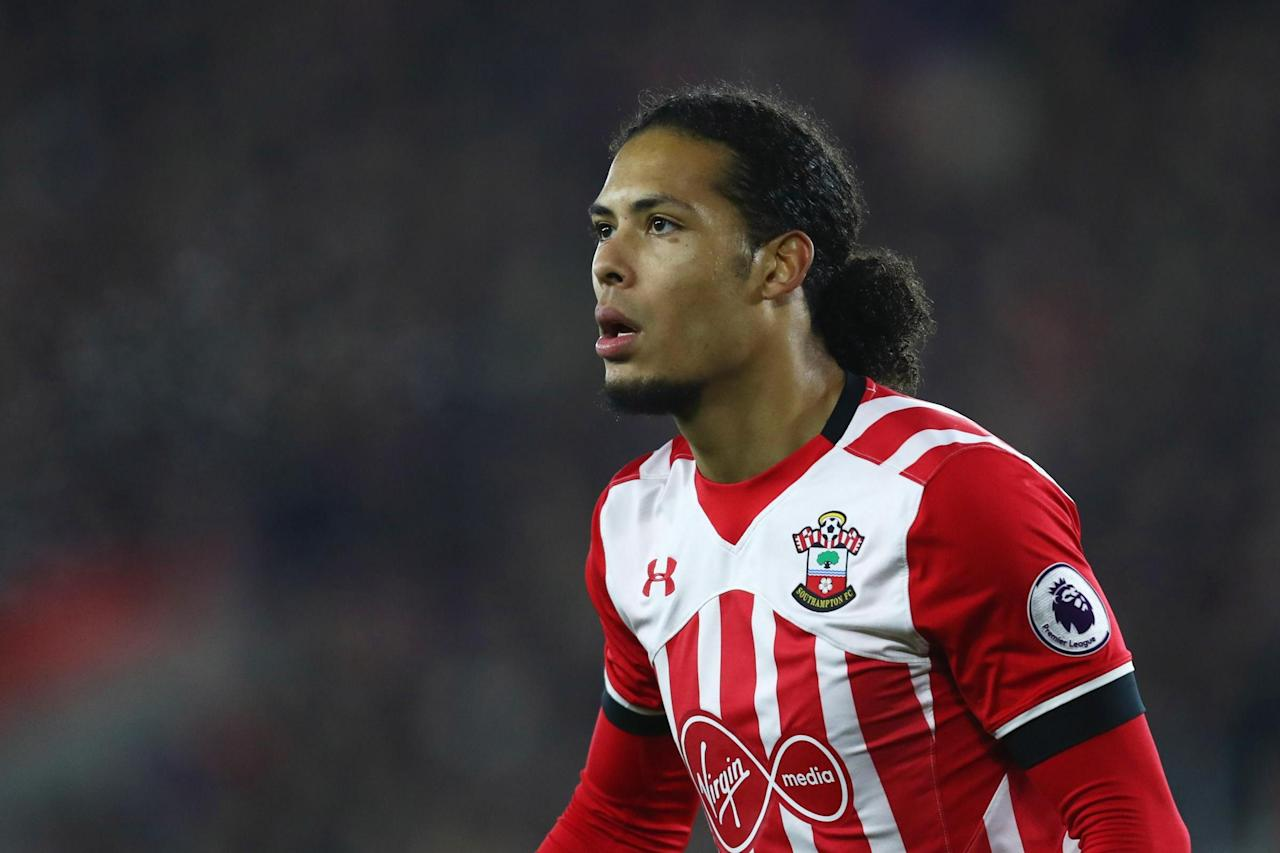 Virgil van Dijk training alone after asking to leave Southampton