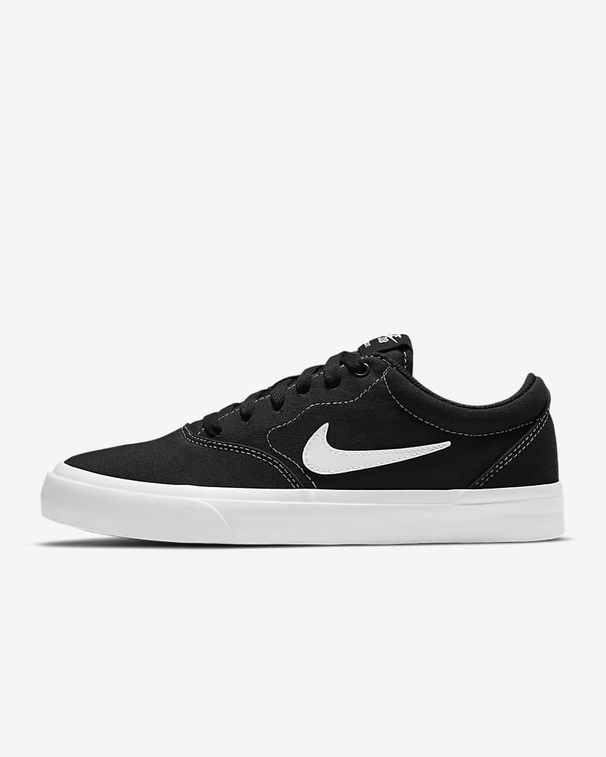 "For when you want to swap out your chunky kicks for something on the sleeker side. Style these with lived-in jeans now and pretty dresses in the warmer months. $65, Nike. <a href=""https://www.nike.com/t/sb-charge-canvas-womens-skate-shoe-FVV95g/CN5269-001"" rel=""nofollow noopener"" target=""_blank"" data-ylk=""slk:Get it now!"" class=""link rapid-noclick-resp"">Get it now!</a>"