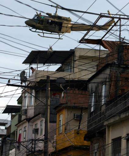 Activists say helicopters are overused in the raids, but some lawmakers say they are needed to crack down on crime in Rio's slums