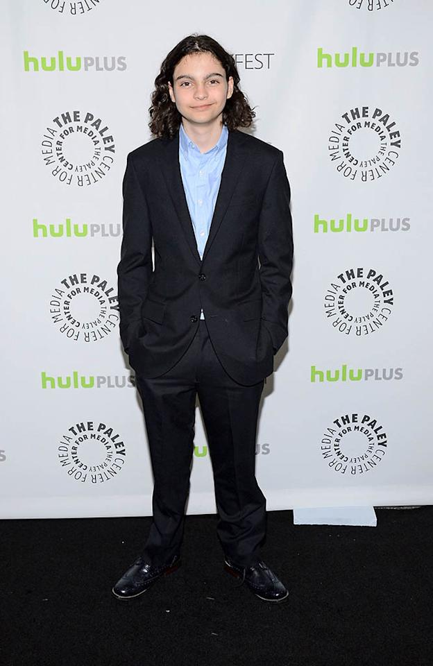 "Max Burkholder attends the 30th annual PaleyFest featuring the cast of ""Parenthood"" at the Saban Theatre on March 7, 2013 in Beverly Hills, California."