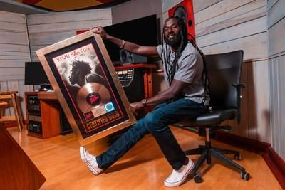 THE JAMAICAN DANCEHALL PIONEER BUJU BANTON CELEBRATES HIS BIRTHDAY WITH FANS AROUND THE WORLD AND RECIEVES A SPECIAL RIAA GOLD ALBUM FOR HIS 1995 SEMINAL ALBUM 'TIL SHILOH