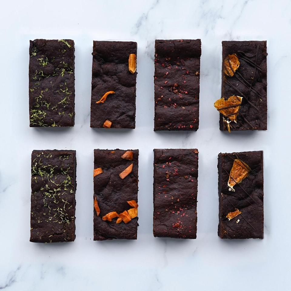 "<p>Adventurous, how so? These brownies feature some different, but totally delicious flavours you've probably not tried before. Including mango and ginger, and even pink peppercorn, pineapple and chilli! </p><p><a class=""link rapid-noclick-resp"" href=""https://go.redirectingat.com?id=127X1599956&url=https%3A%2F%2Fwww.etsy.com%2Fuk%2Flisting%2F862062462%2Fadventurous-brownie-gift-box-vegan%3Fref%3Dshop_home_active_7&sref=https%3A%2F%2Fwww.delish.com%2Fuk%2Ffood-news%2Fg34653549%2Fletterbox-brownies%2F"" rel=""nofollow noopener"" target=""_blank"" data-ylk=""slk:BUY NOW"">BUY NOW</a> <strong>£16.95</strong></p>"