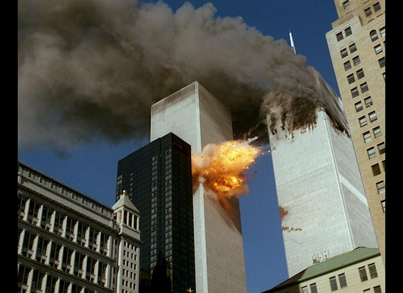 "The second crash happened at 9:03 a.m., when Flight 175 hit the south tower of the World Trade Center. The last communication made with air traffic control was made at 8:42 a.m., but passengers were able to provide details of the flight by contacting their families by phone. <a href=""http://timeline.national911memorial.org#/Explore/2/Entry/533"" target=""_hplink"">Brian Sweeney</a> called his wife, Julie, to tell her the plane had been hijacked, and Peter Hansen <a href=""http://www.9-11commission.gov/report/index.htm"" target=""_hplink"">told</a> his father, Lee, ""I think they intend to go to Chicago or someplace and fly into a building."""
