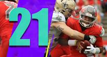 """<p>Getting outscored 25-0 in the second half against the Saints wasn't the best look. For the first half it looked like the Buccaneers were emerging as that """"team that plays really well after their playoff hopes are dead"""" squad for this season. (Jameis Winston) </p>"""