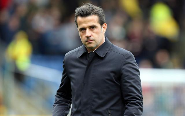Everton has managed just seven points from their eight league games this season under Marco Silva - CameraSport