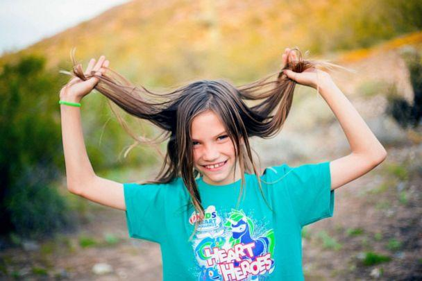 PHOTO: Brodie Southgate was in preschool when he donated his hair to charity the first time. He got the idea from a friend who performed the kind act. (Courtesy Nia Uhlenhake/Noyan Photography)