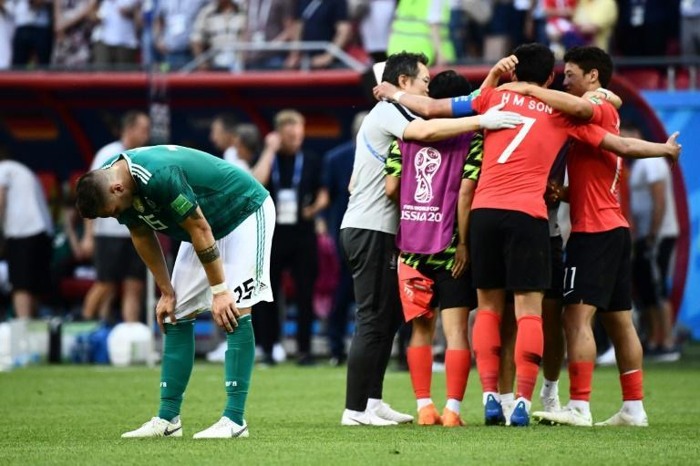 Germany suffered a humiliating group-stage exit at the 2018 World Cup