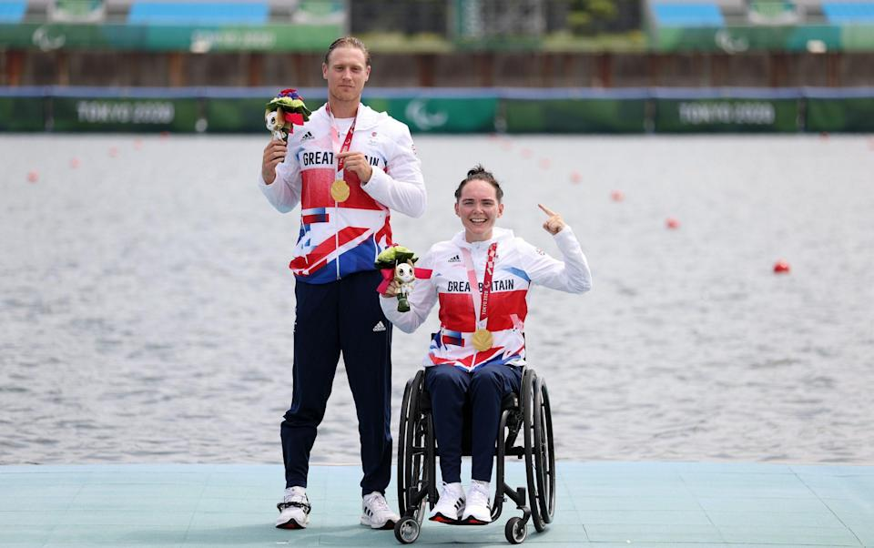 Both Lauren Rowles and Laurence Whiteley took time away from the sport to look after their mental health - GETTY IMAGES
