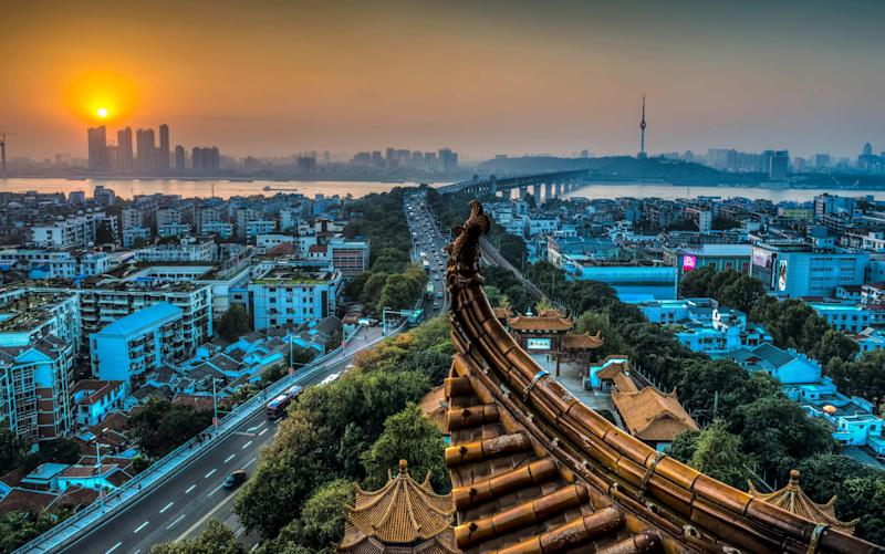 Wuhan, the epicentre of the coronavirus - © Andrea Rapisarda